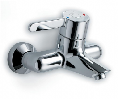 Armitage Shanks (A4135AA) Contour 21 Exposed, Thermostatic, Wall Mounted Bath Filler In Chrome